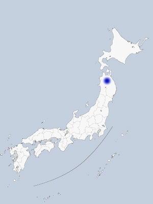 奥入瀬・十和田湖の地図