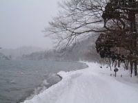 冬の十和田湖(1)