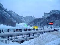 層雲峡氷瀑まつり(2)
