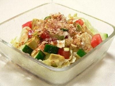 夏バテ快復料理 栄養満点!お豆腐サラダ