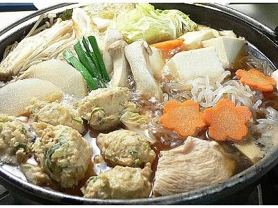 鶏すき (とり鍋)