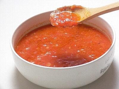 トマトの冷凍保存・電子レンジトマトソース