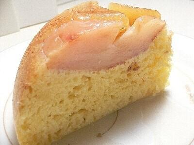ホットケーキミックスでアップルケーキ