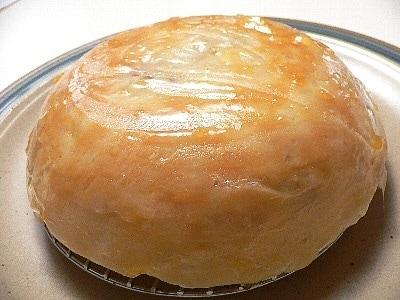 お釜でアップルパイ