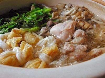 鶏塩みぞれ鍋の作り方・レシピ