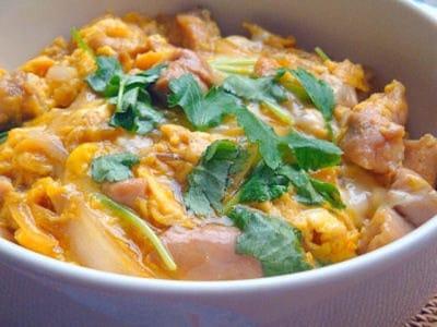 親子丼のレシピ!15分でできる簡単献立料理の作り方
