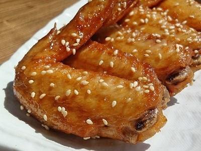 鶏手羽先の唐揚げ簡単レシピ 甘辛味に簡単味付け!