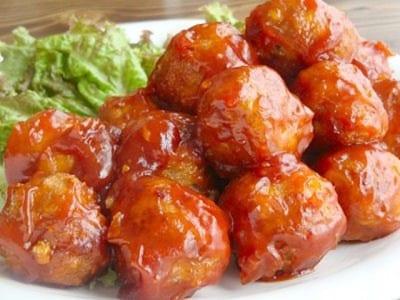 甘酢あん肉団子のレシピ!定番おかず料理の作り方を解説