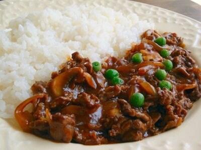 薄切り肉で簡単調理、ハヤシライスのレシピ