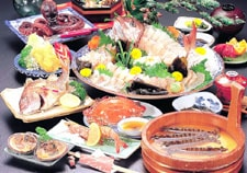 民宿南風の料理