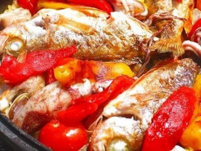 簡単パエリアレシピ……炭火で炊き上げるアウトドア料理