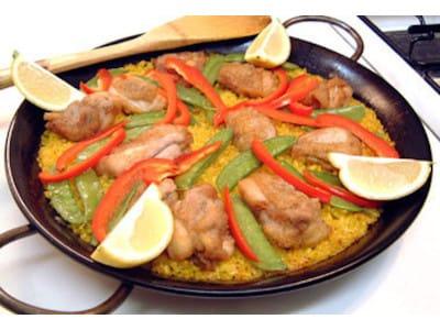 チキンパエリアをフライパンで作る簡単レシピ!