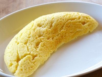 フライパンで簡単オムレツ風チーズケーキ
