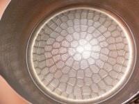 鍋に酒とみりんを入れて煮る
