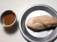 漬けダレを煮詰めてソースにする