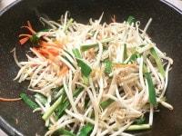 野菜を「炒めゆで」する