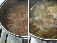 鍋を中火にかける。