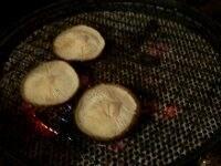 焼き椎茸・焼きアスパラ
