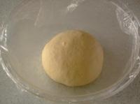 一次発酵をする