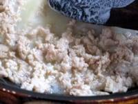 ひき肉あんを作る