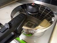 圧力2(強圧力)で20分煮る