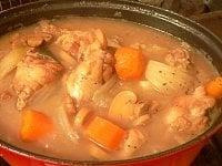 ブールマニエでスープにとろみをつける
