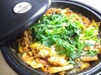 ピリ辛タジン鍋のでき上がり