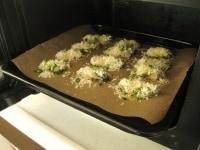 200℃のオーブンで焼く