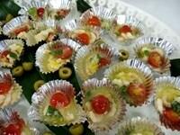 プチトマトとシュリンプのマリネ