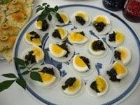 大根と卵&海苔ディップ