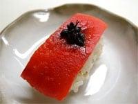 焼きパプリカの野菜寿司