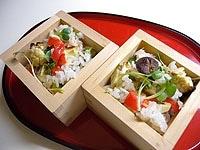 残った野菜でちらし寿司