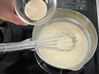 粉ゼラチンを加え混ぜる