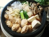 鍋に調味だれを入れ、野菜を煮る