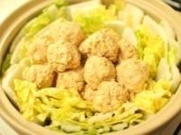 白菜と大根おろしを入れる