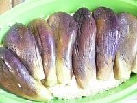 豆腐種の上に並べる