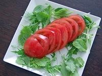 トマトサラダを作る
