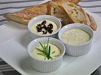 3つの味わいの贅沢な発酵バター