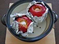 土鍋で焼く