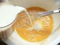 カスタード液を作る