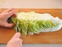 それぞれの材料の切り方