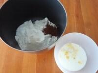 生地をこねる~発酵終了