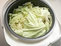 内釜に詰めて高速炊き(なければ普通炊き)で炊く