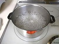 シロップ液をつくる