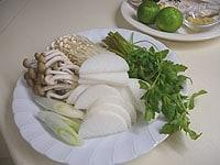 野菜類はそれぞれ切り分ける