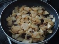 煮りんごを作る
