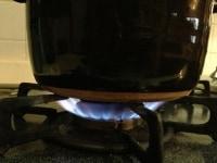 土鍋でも炊けます