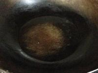 油を熱する