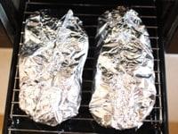 魚焼きグリルで焼く