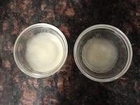 粉ゼラチンをふやかす